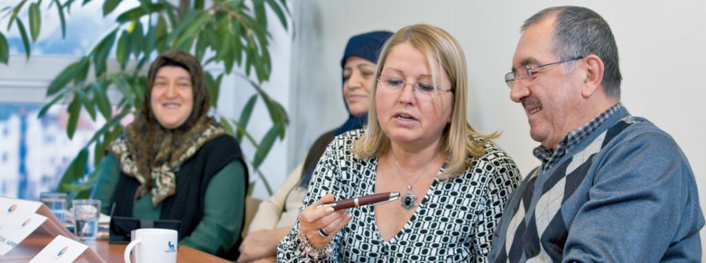 Diabetes-Schulung mit Insulin auf türkisch